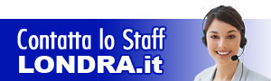 Contatta lo staff di Londra .it